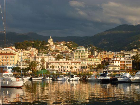 San Remo in morning light