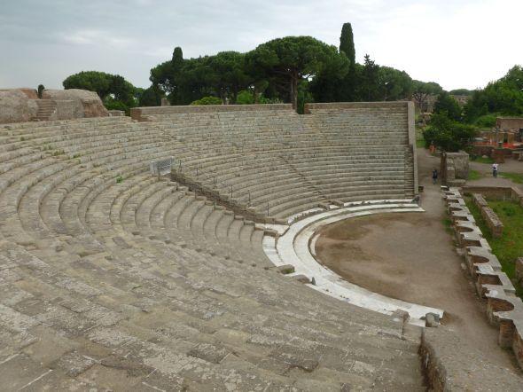 Amfiteatern i Ostia Antica