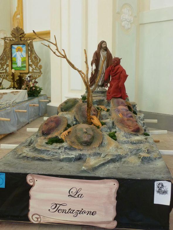 Jesus frestas av djävulen