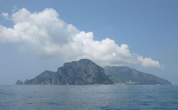 Capri sett från öster