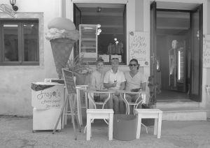 Gott med glass i Gaios. Foto: Quentin