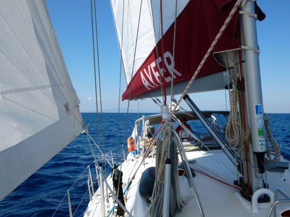 Härlig segling från Poros till Kythnos