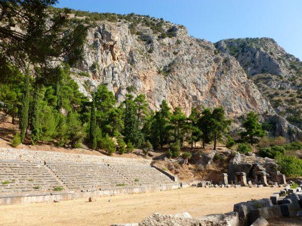 Stadion i Delfi