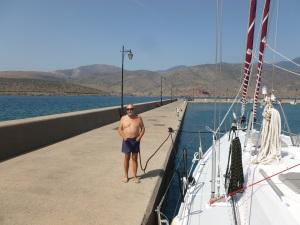Öde marina i Itea