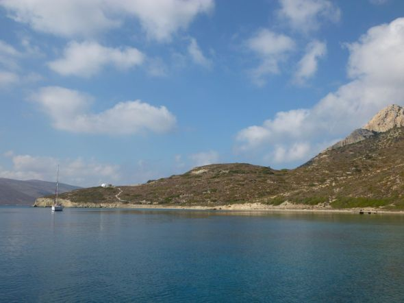Ankarviken i Amorgos