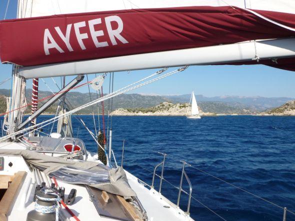 Ayfer - a turkish girl name