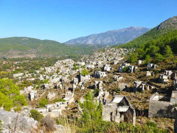 Den övergivna staden Kaya Koy