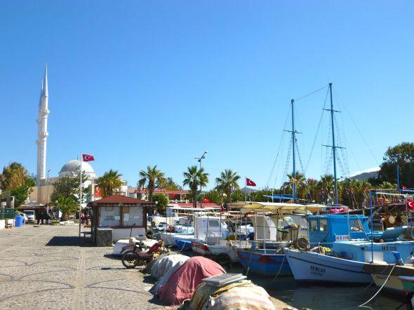Fiskehamnen i Turgutreis
