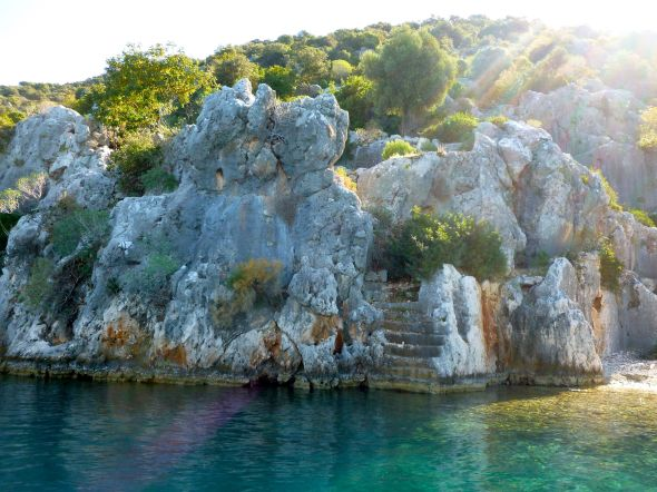 The sunken city i Kekova