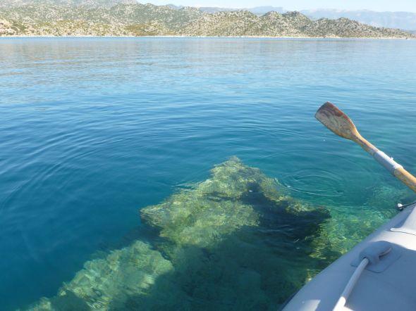 Ruiner under vattnet