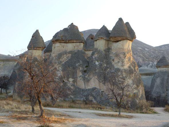Fairy chimneys, jordpelare