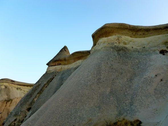 Tre skikt, tuff.... basalt