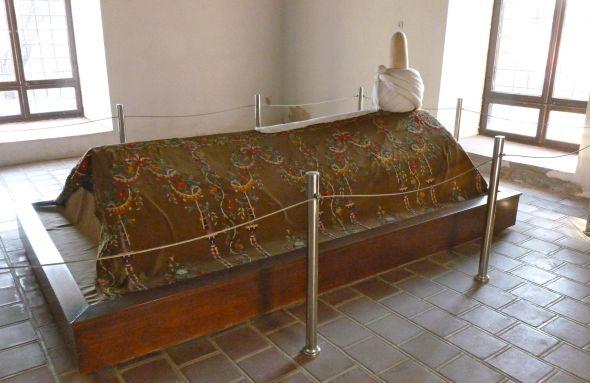 Celaleddin Karatays grav i Karatay Madrasah i Konya