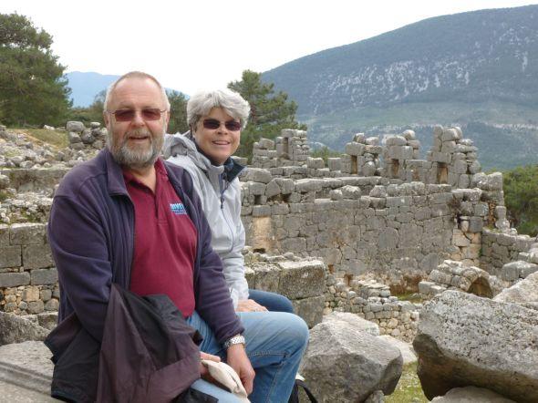 Ruinmonster i Arykanda