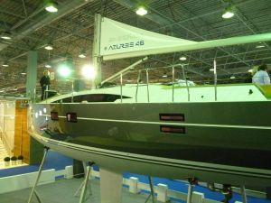Azuree 46, som byggs av Sirena Marine i Turkiet
