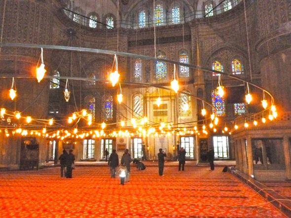 Blå moskén