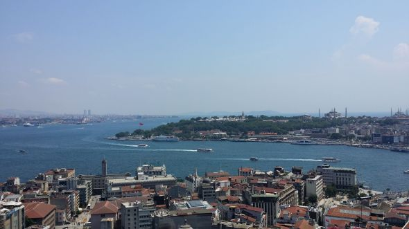 Wiew from Galata Tower