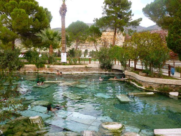 Cleopatras bad i Hierapolis