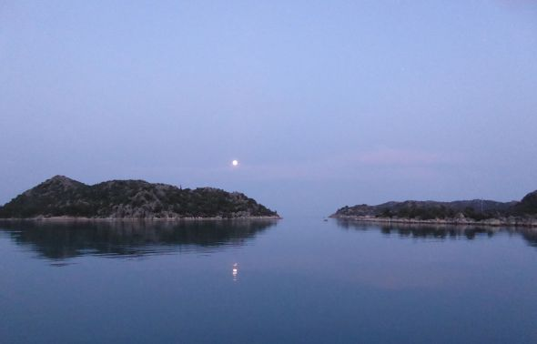 Månen i Gökkaya