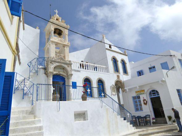 En av kyrkorna i Nikia