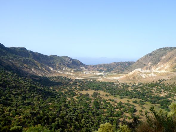Nisyros krater
