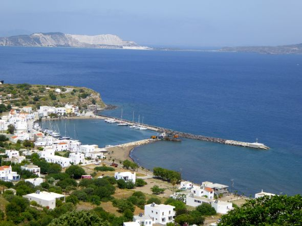 Utsikt över hamnen i Pali