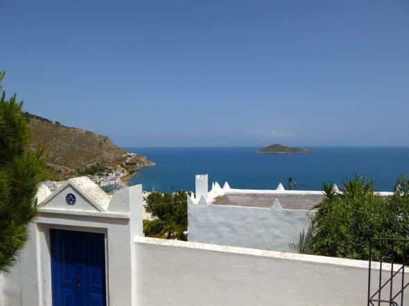 Utsikt över Villa Kolkis