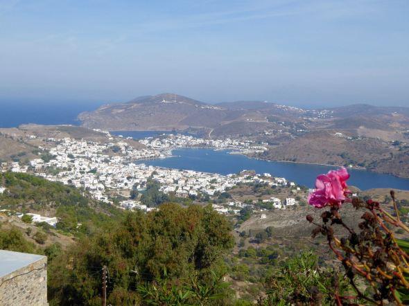 Utsikt från Chora