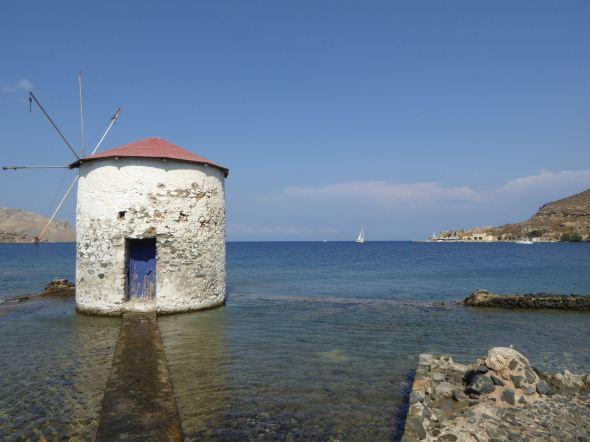 Utsikten från Mylos