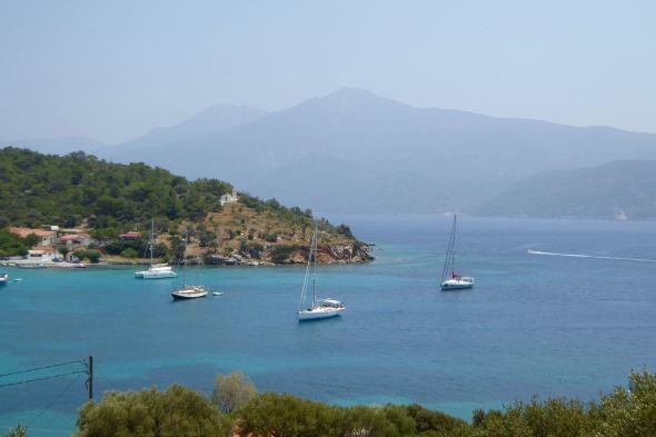 Ayfer i Posidionio, Samos