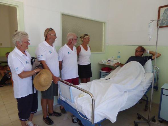 Besök på hospitalet
