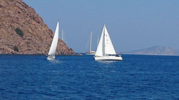 Målgång på Patmos1