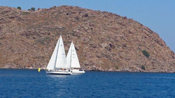 Målgång på Patmos2