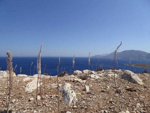 Utsikt från Leros